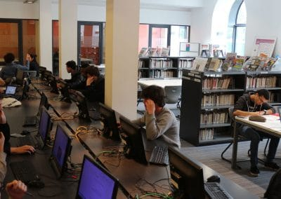 Des équipements informatique