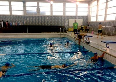 entrainements nages